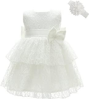 Baby Girl Dress Christening Baptism Gowns Infant Girl Party Wedding Dress