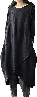 Best asymmetrical linen dress Reviews