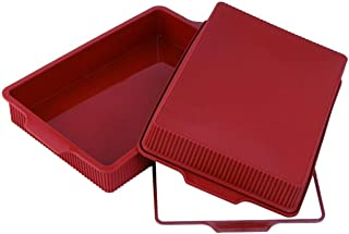 Silicone Classic Collection Lasagna Pan, 13 by 9-Inch Baking supplies Griddle pan Cooking pan Lasagna pan Oven pan Baking ...
