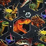 MAGAM-Stoffe Jurassic World Jersey Kinder Stoff Oeko-Tex