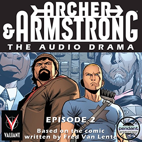 Archer and Armstrong #2 cover art