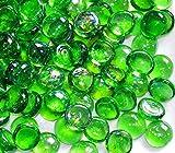 The Glass Pebble Shop - 100 sassolini decorativi verdi...