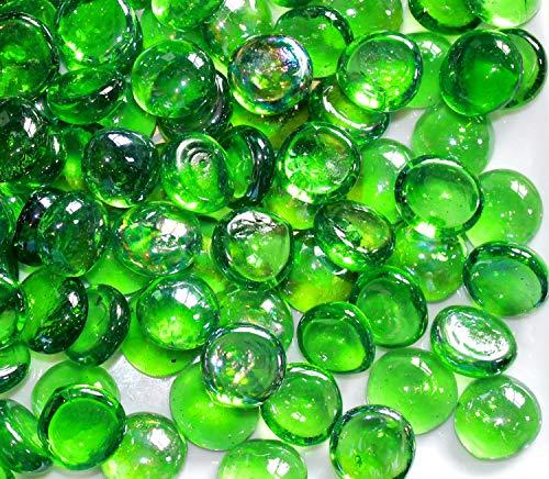 100 aprox. Verde cristal redonda pledger/piedras/cuentas/para