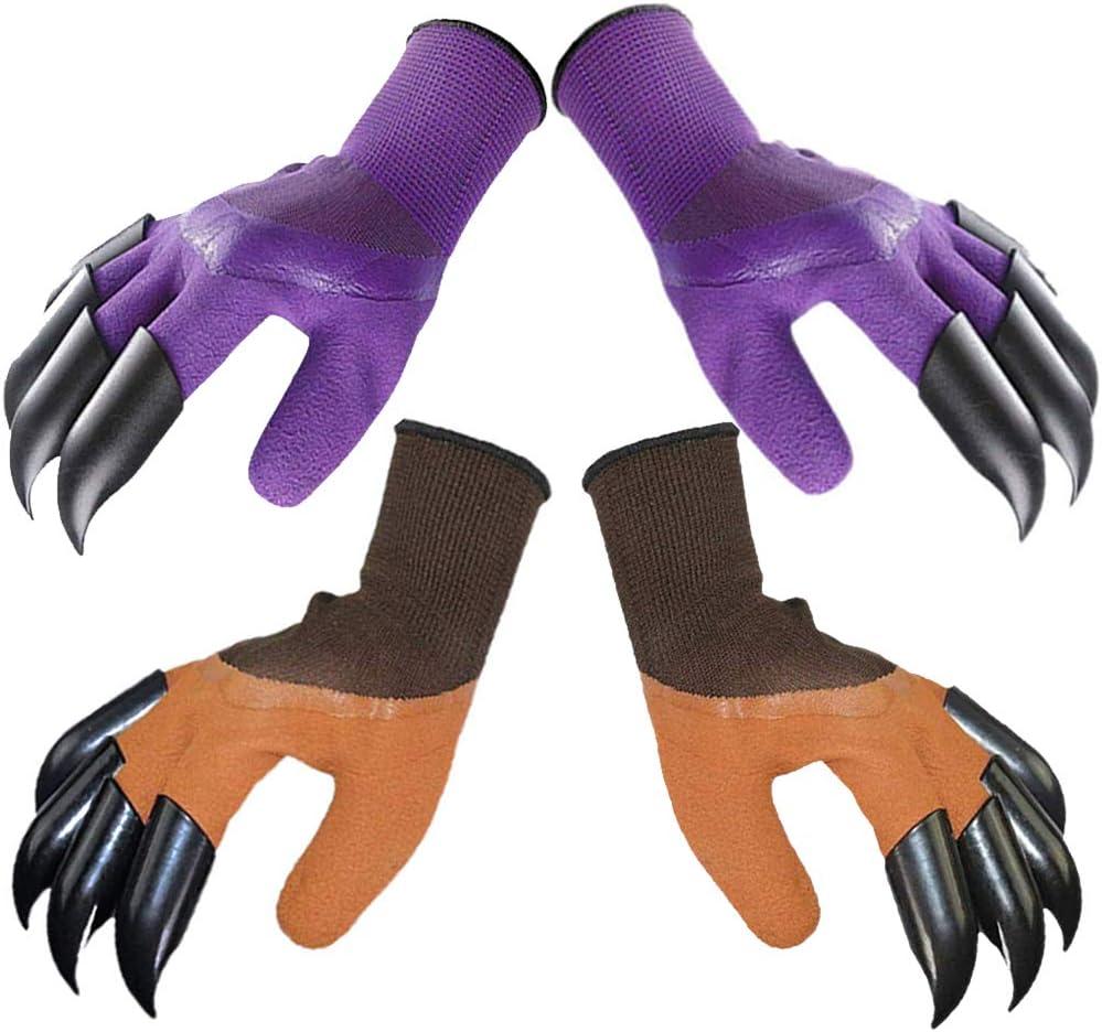 Hymnorq Garden Genie Gloves with Claws Digging for Hand Each San Washington Mall Diego Mall on