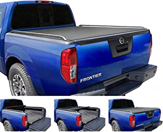Tyger Auto T2 Low Profile Roll-Up Truck Tonneau Cover TG-BC2N2079 Works with 2005-2019 Nissan Frontier | Fleetside 5' Bed | for Models with or Without The Utili-Track System