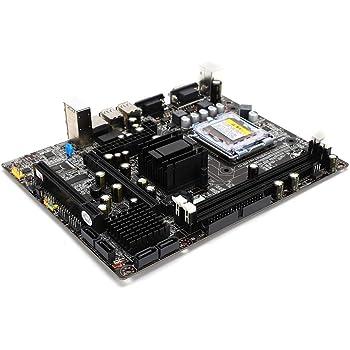 マザーボード デスクトップコンピューターメインボード 945GC + ICHチップセット DDR2 667 / 800MHz 775シリーズ 交換用マザーボード 代替用マザーボード