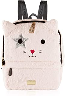 Luv Betsey By Betsey Johnson Sienna Unicorn Kitch Cat Face Backpack - Blush