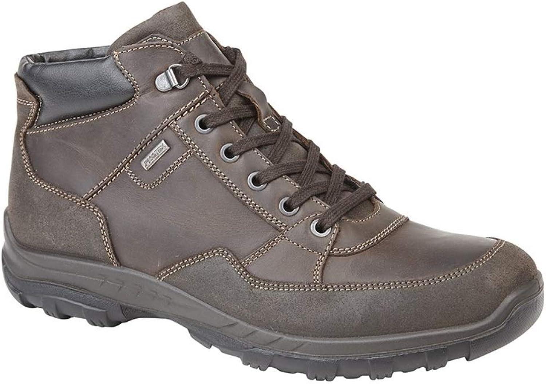 Mens Gents Italian 6 Eyelet Waterproof Membrane Ankle Boot