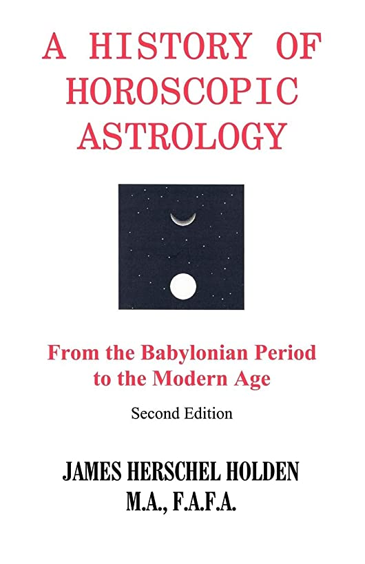 A History of Horoscopic Astrology