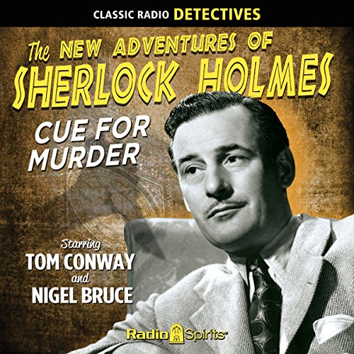 Sherlock Holmes: Cue for Murder cover art