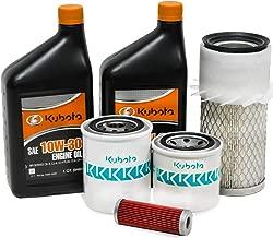 Genuine OEM Kubota HST Filter & 10W-30 Oil Maintenance Kit for B6200, B7100, B7200 Models