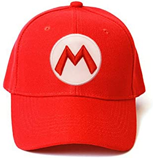 Mario Odyssey Red Snap Back Baseball Cap Red - One Size Fits Most