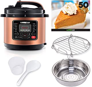 GoWISE USA GW22700 12-in-1 Multifunctional Electric Pressure Cooker with Measuring Cup,..