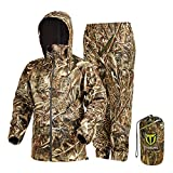 TideWe Rain Suit, Waterproof Breathable Lightweight Rainwear (Max 5 Size L)