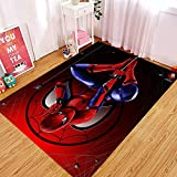 Yugy Tapis Enfants Spiderman Dessin Animé Maternelle Tapis Moderne Salon Chambre Chambre Enfants Tapis De Chevet 80 * 120cm