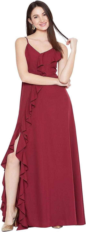 Berrylush Solid Maxi Dress lowest Austin Mall price for Women