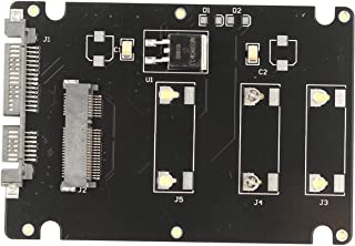 Futheda mSATA till SATA III omvandlare mSATA till 2,5 tum SATA III HDD SSD hårddisk omvandlare adapter med aluminiumhölje ...