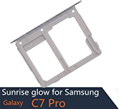 SIM Card Slot Compatible with Samsung Galaxy C7 Pro White