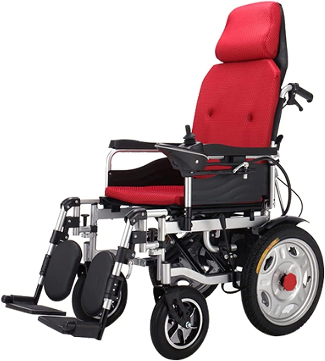 Easy-to-use Electric Wheelchair unisex with Headrest Reclining Standing Whee Full
