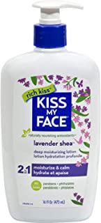Kiss My Face Kiss my face moisturizer lavender & shea butter 16 oz