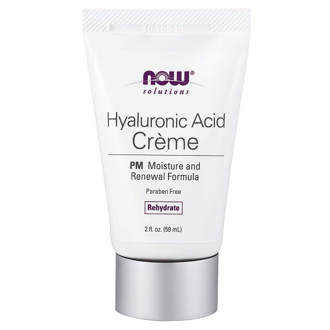 エピソード光沢アラブサラボ海外直送品 Now Foods Hyaluronic Acid Creme, 2 oz tube