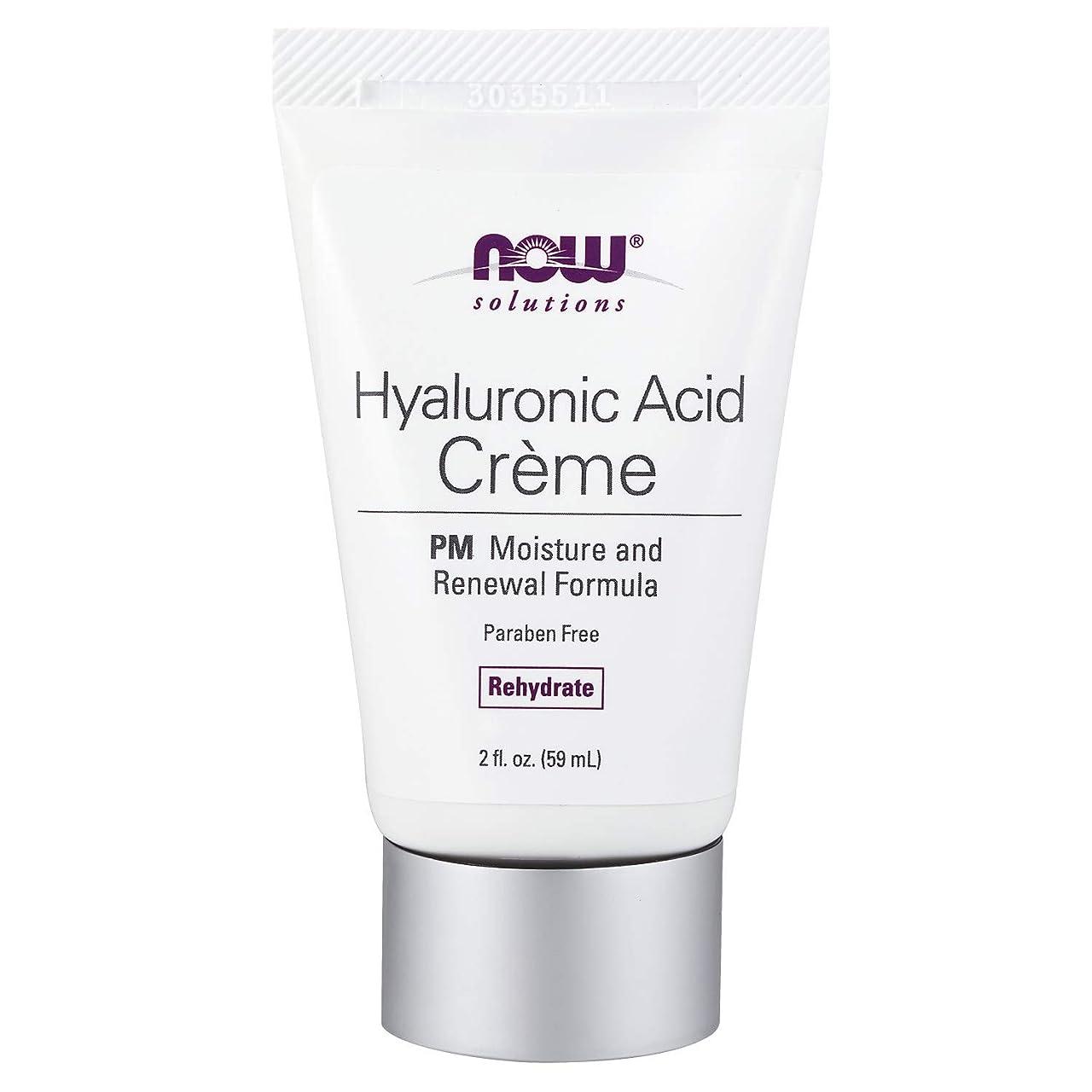 許可する優れましたチーズ海外直送品 Now Foods Hyaluronic Acid Creme, 2 oz tube