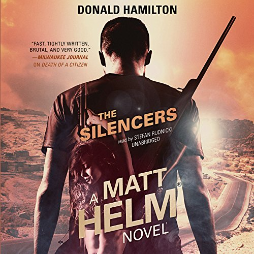 The Silencers audiobook cover art