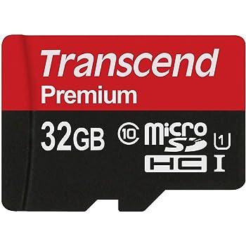 旧モデル Transcend microSDHCカード 32GB Class10 UHS-I対応 変換アダプタ無し TS32GUSDCU1