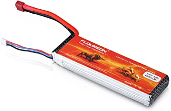 FLOUREON 2S 7.4V 4000mAh 30C Lipo Battery Rechargeable RC Battery with Deans T Plug for RC Evader, RC Car, Truck, Truggy, RC Airplane, UAV/FPV Drone, Helicopter, DIY RC Hobby and More