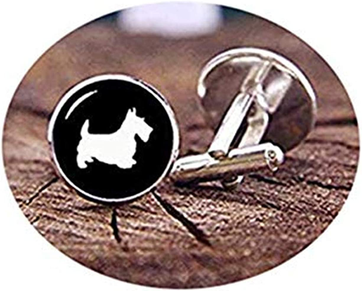 Death Devil Art Picture Cuff Links,Scottish Terrier Cufflinks, Tie Clips, Personalized Cuff Links, Custom Dog Cuff Links, Pet Dog Cuff Links, Wedding Cuff Links, Groom Gifts,Gift of Love