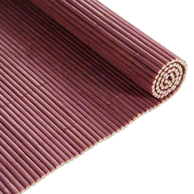 デジタルハイライト杭遮光竹のカーテン、家庭用通気性の防風ホームパーティションカーテンリビングルームのバルコニー遮光断熱ローラーブラインド LIAN (Color : Purple, Size : 150x175cm(59.1