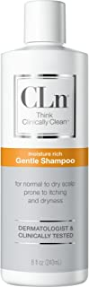 CLn Skin Care Gentle Shampoo Sensitive Scalp Gentle Shampoo For Normal To Dry Scalp Prone To Itching And Flaking Caused By...