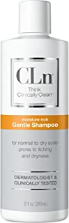 CLn Gentle Shampoo - Sensitive Scalp Gentle Shampoo for Normal to Dry Scalp Prone to Itching and Flaking Caused by Dryness– Dermatologist & Clinically Tested, (8 fl oz)