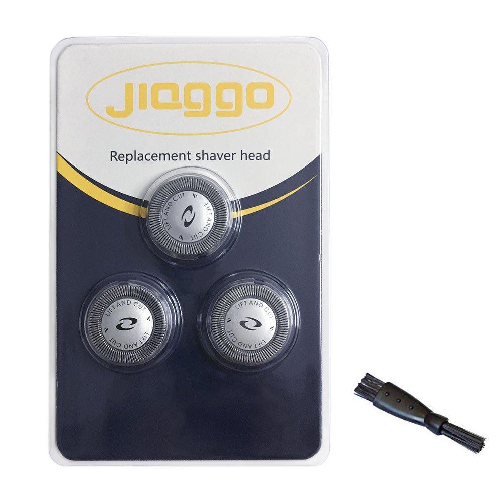 jiaggo 3 x sistema doble hoja de afeitar Cabezales adaptado a ...