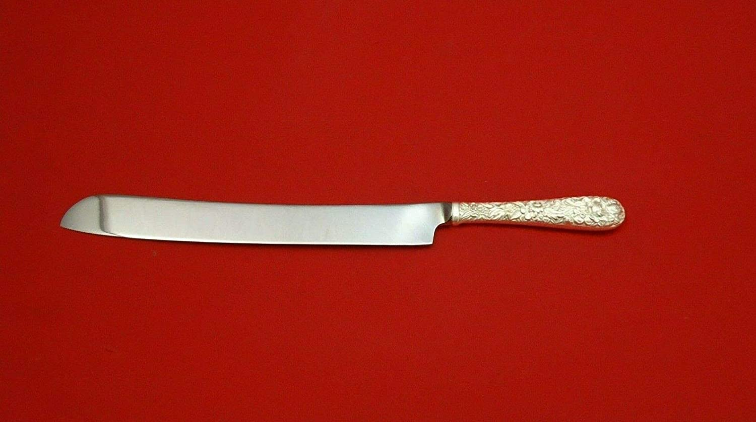 Repousse By Kirk Sterling Silver Wedding Max 63% Same day shipping OFF HHWS Cake Knife 12