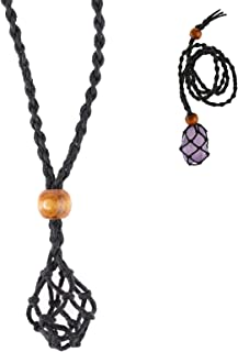 3 Strands Natural  Agate Charms Necklace with Hematite Chains Pave Rhinestone Crystal  jade Pendants Jewelry For Women NK192