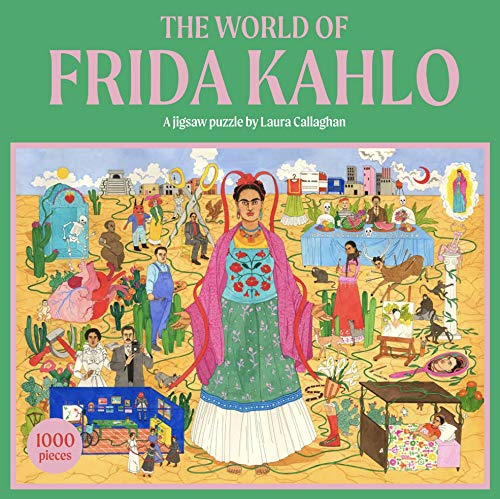 The World of Frida Kahlo. A Jigsaw Puzzle