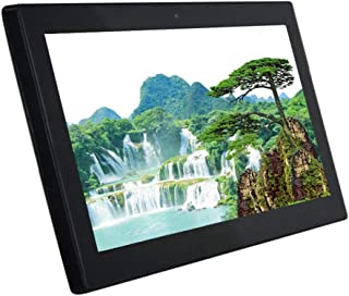 """14"""" IPS HD Digital Photo Frame - 1920x1080 High Resolution Advertising Player with HDMI Electronic Album, Support MMC/SD C..."""