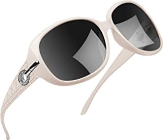 Joopin Polarized Sunglasses for Women Vintage Big Frame...
