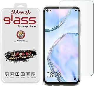 شاشة حماية من الزجاج المقوي لهاتف ريلمي 6 شفافة من دلـع موبايلك