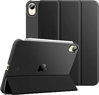 iPad Mini6 ケース Dadanism iPad mini 2021モデル iPad Mini 第6世代 保護ケース iPad 8.3 インチ スマートカバー 半透明 カバー スタンドケース オートスリープ機能 軽量 薄型 PU+PC ...