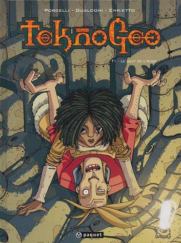 Teknogeo, Tome 1 : Le saut de l'ange