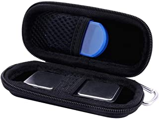 Caja Bolsa Fundas para AliveCor Kardia Mobile EKG Monitor de Aenllosi (negro)