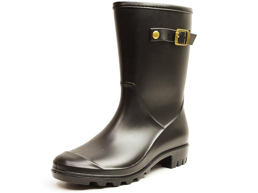 ペチュランス侵略オゾン(イーラ) ERA レインブーツ レディース レイン ブーツ シューズ 防水 防滑 雨靴 長靴 脚長 スノー ウインター ラバー 靴 女性用