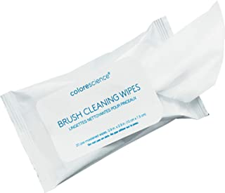 Colorescience Brush Cleaning Wipes, 20 ct