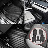 Bonbo Floor Liner Mats for Honda HR-V 2016-2020,Custom Fit,Front and Rear Seat Floor Mats,All-Weather Guard,Heavy Duty Rubber,Odorless(Pack of 5)