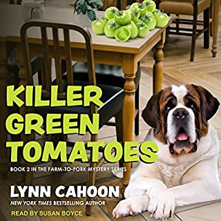 Killer Green Tomatoes     Farm-to-Fork Mystery Series, Book 2              By:                                                                                                                                 Lynn Cahoon                               Narrated by:                                                                                                                                 Susan Boyce                      Length: 7 hrs and 11 mins     99 ratings     Overall 4.6