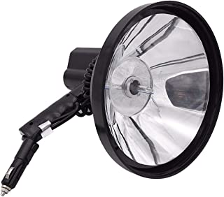 Image of Mjwlgs Searchlight 9 inch Car Work Light Searchlight Ultra Bright Handheld 100W Searchlights Hunting Spotlight Fishing Adventure Lamp Spot Adjusted
