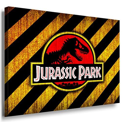 Jurassic Park - Lienzo decorativo (100 x 70 cm), diseño de LaraArt