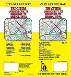 Bristol / Johnson City / Kingspot / Tri-Cities, Tennessee Street Map